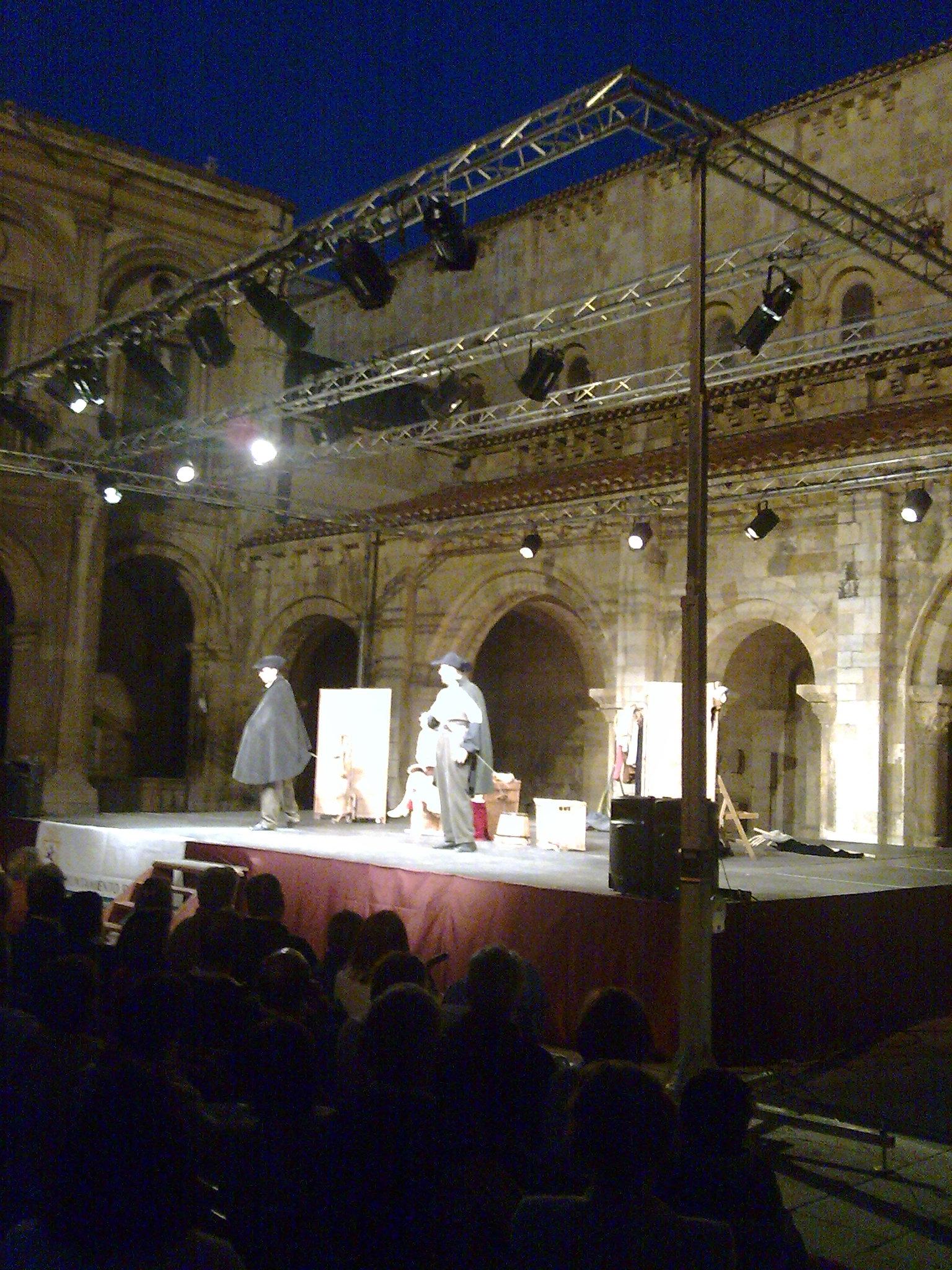 La comedia de las comedias en el Claustro de San Isidoro